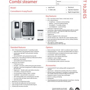Combi Steamer Electric
